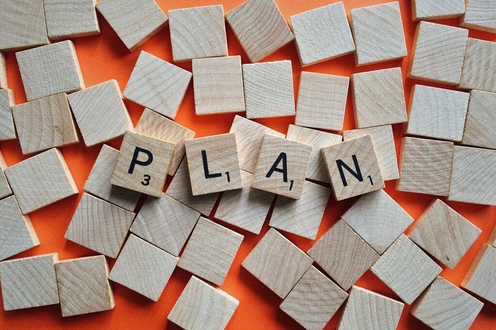 plan, objective, strategy